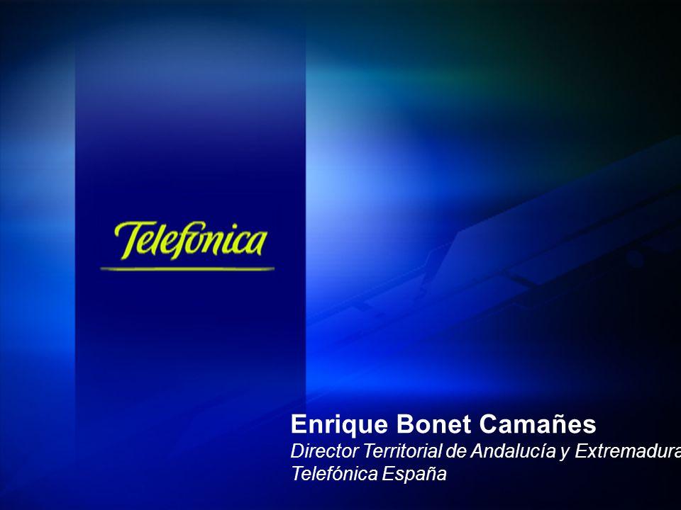 Enrique Bonet Camañes Director Territorial de Andalucía y Extremadura