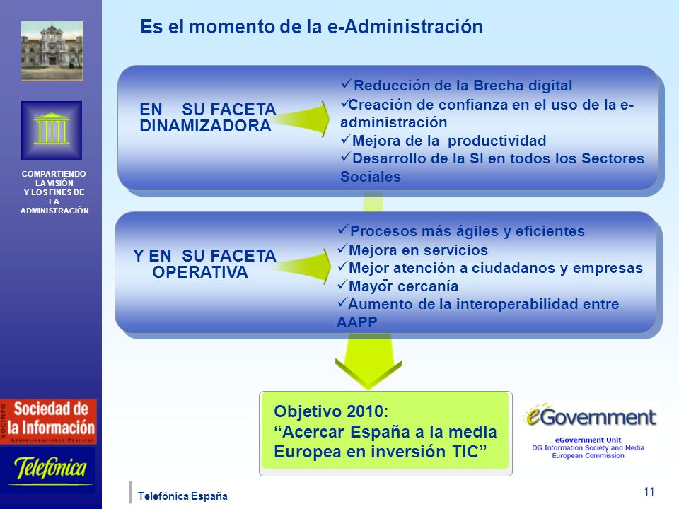 Es el momento de la e-Administración