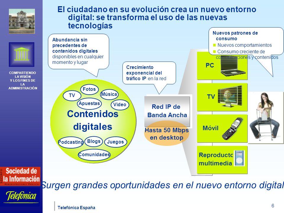 Surgen grandes oportunidades en el nuevo entorno digital