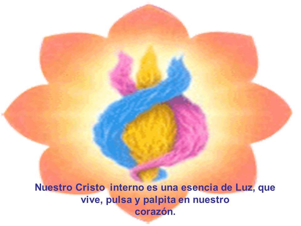 Nuestro Cristo interno es una esencia de Luz, que vive, pulsa y palpita en nuestro