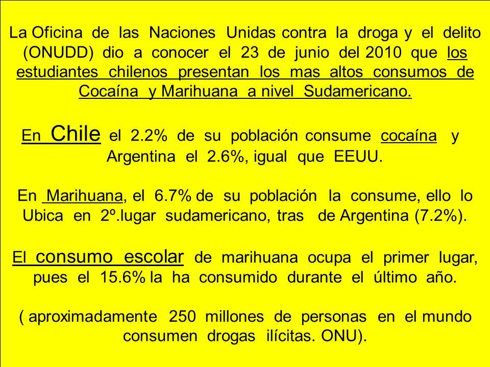 La Oficina de las Naciones Unidas contra la droga y el delito