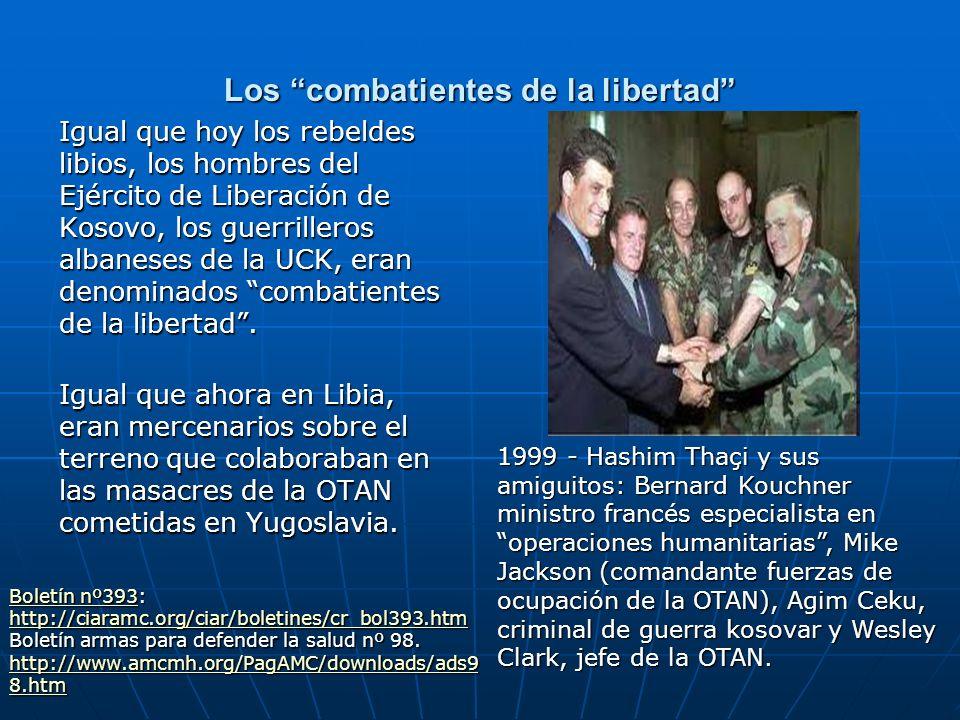 Los combatientes de la libertad
