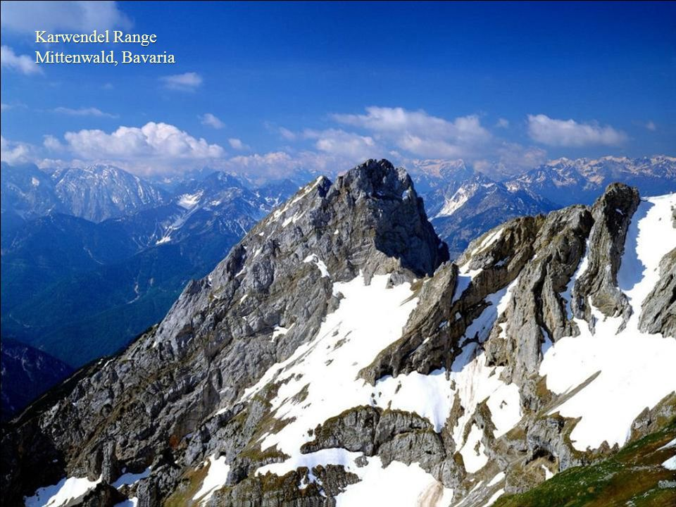 Karwendel Range Mittenwald, Bavaria