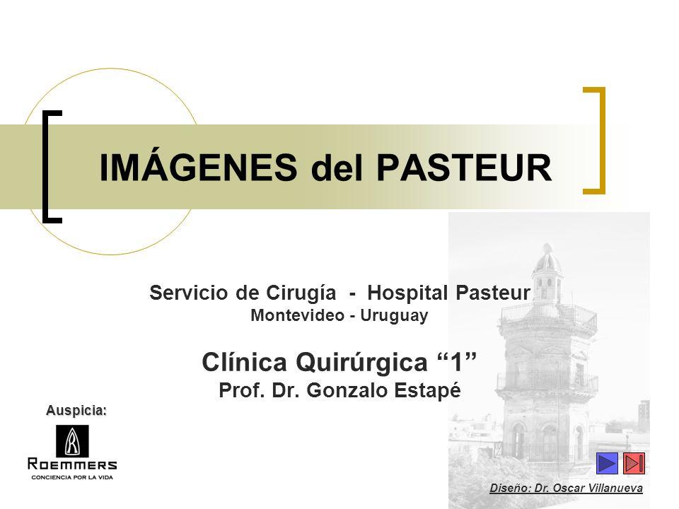 Servicio de Cirugía - Hospital Pasteur