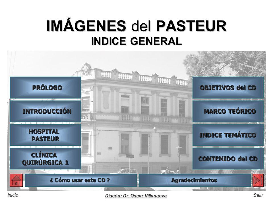 IMÁGENES del PASTEUR INDICE GENERAL