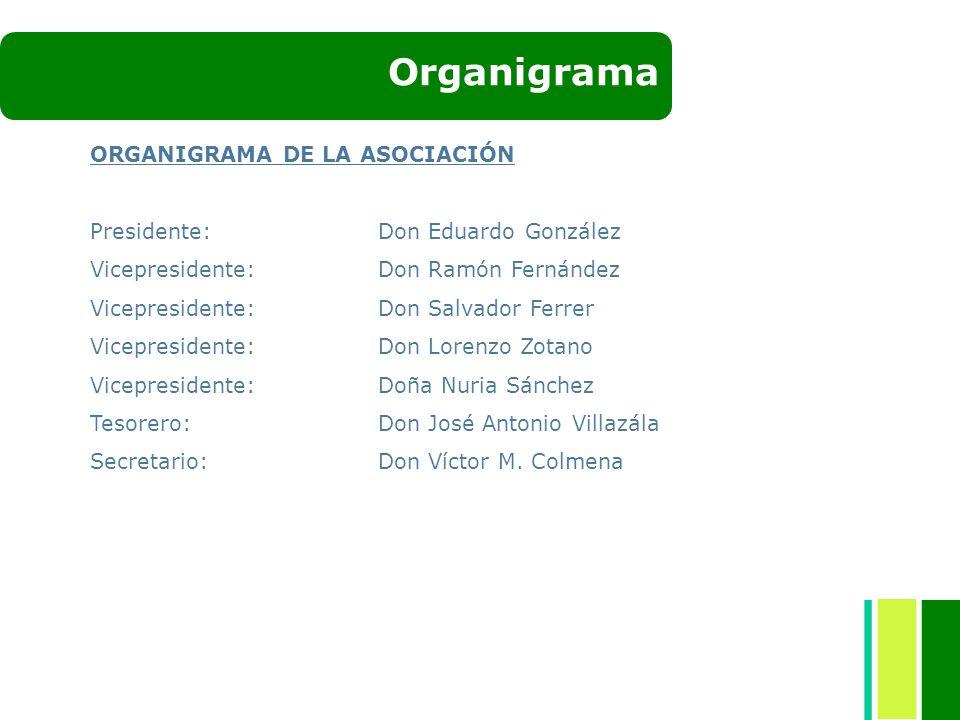 Organigrama ORGANIGRAMA DE LA ASOCIACIÓN