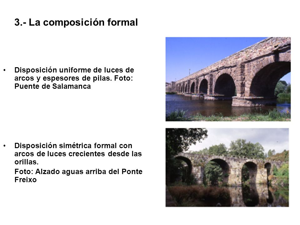3.- La composición formal