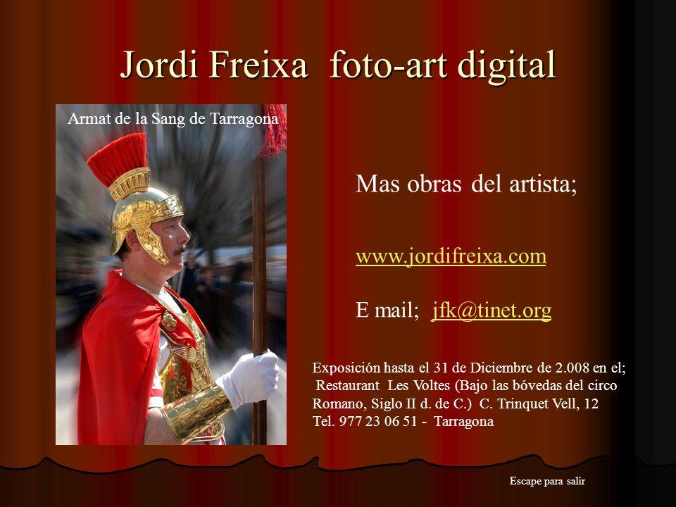Jordi Freixa foto-art digital