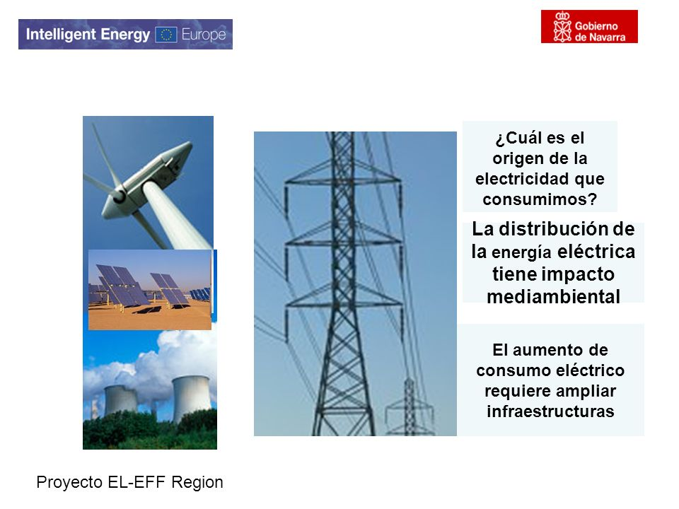 La distribución de la energía eléctrica tiene impacto mediambiental