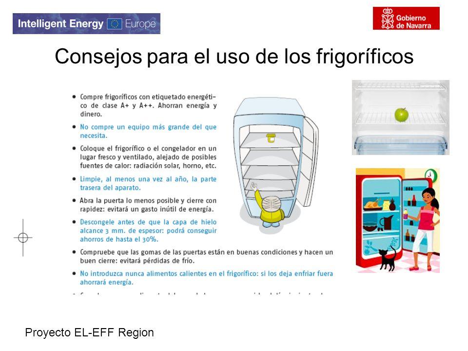 Consejos para el uso de los frigoríficos