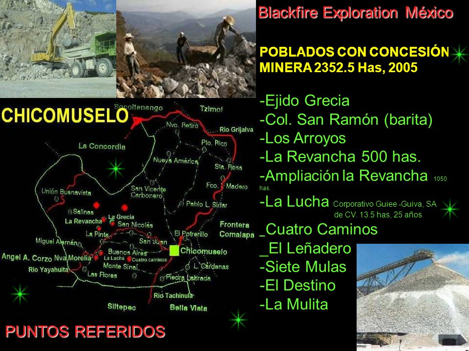 Blackfire Exploration México