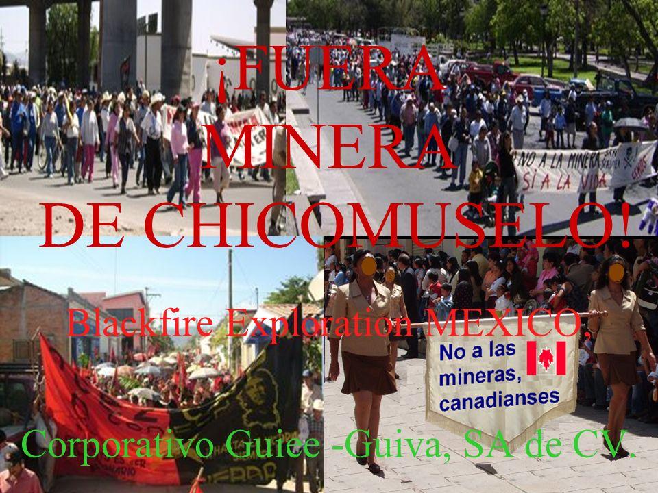 ¡FUERA MINERA DE CHICOMUSELO