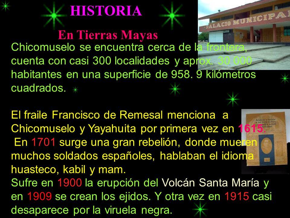 HISTORIA En Tierras Mayas