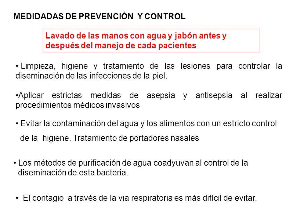 MEDIDADAS DE PREVENCIÓN Y CONTROL