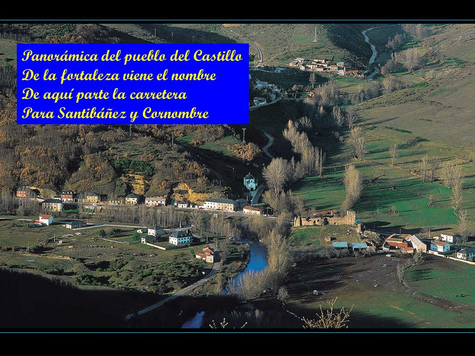 Panorámica del pueblo del Castillo