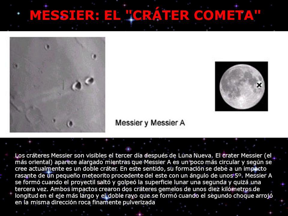 MESSIER: EL CRÁTER COMETA