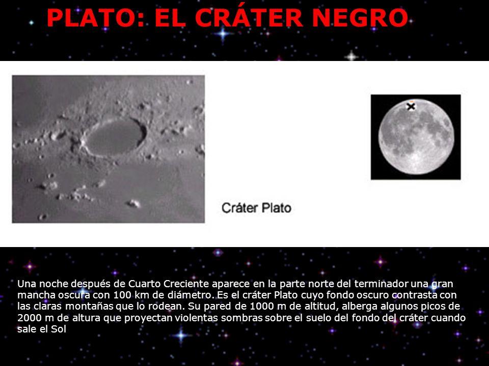 PLATO: EL CRÁTER NEGRO