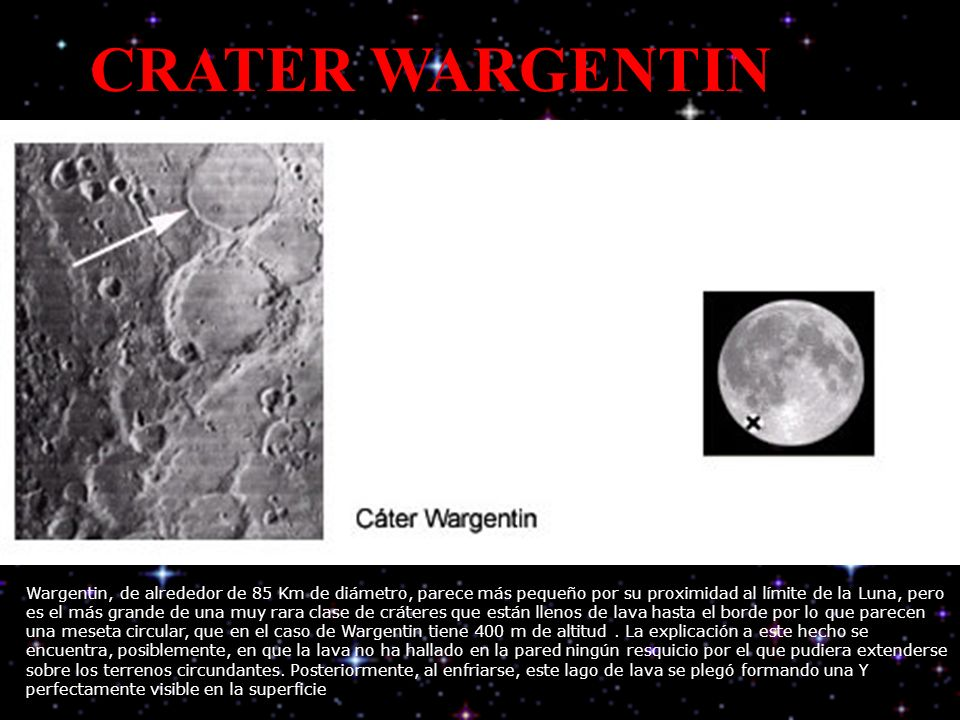 CRATER WARGENTIN