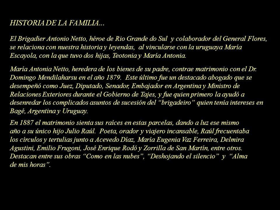 HISTORIA DE LA FAMILIA...