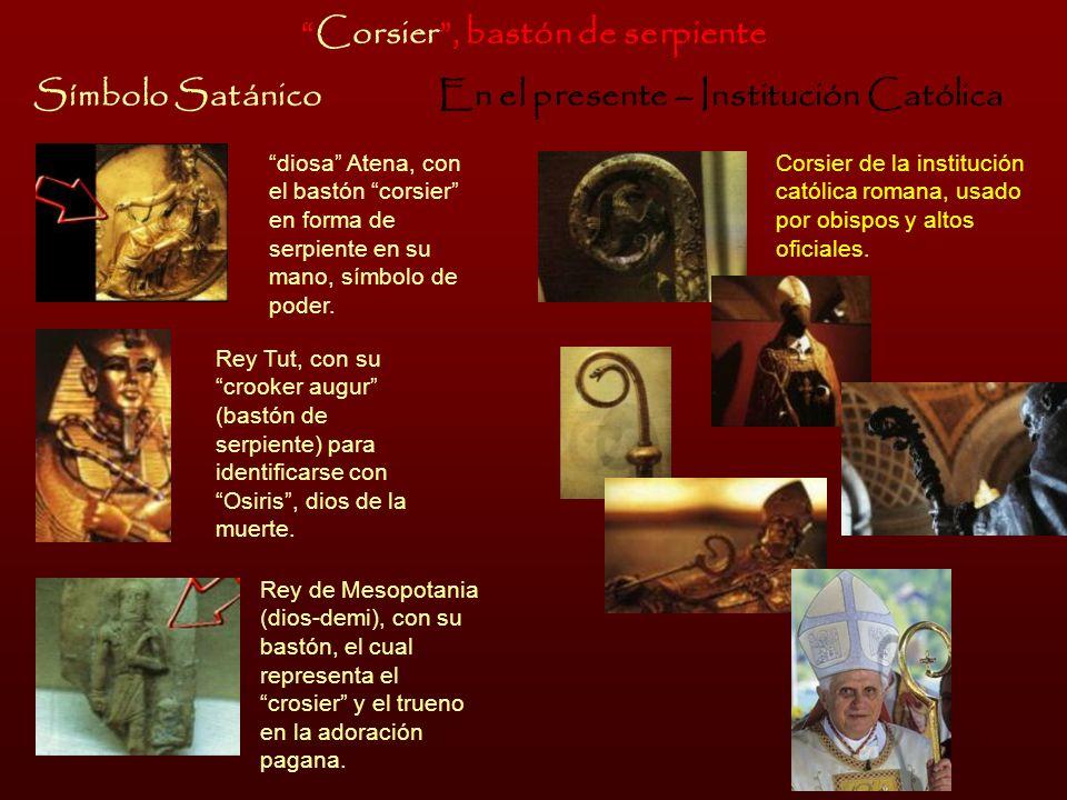 Corsier , bastón de serpiente En el presente – Institución Católica