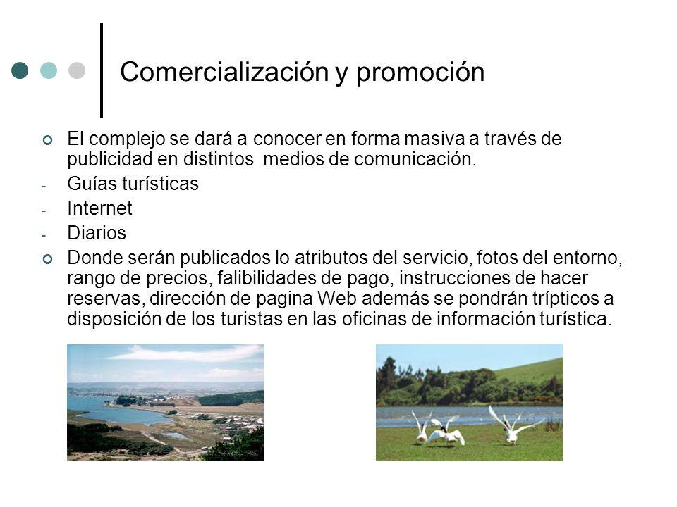 Comercialización y promoción