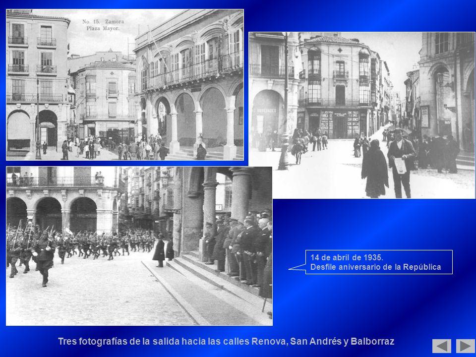 14 de abril de 1935. Desfile aniversario de la República.