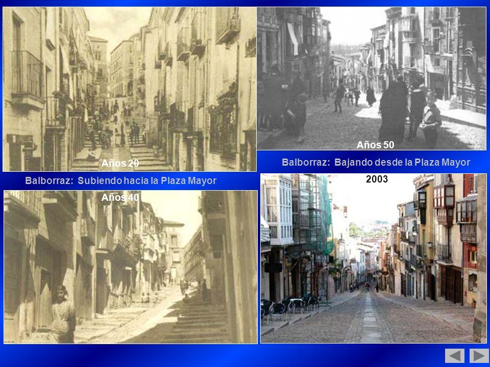 Balborraz: Bajando desde la Plaza Mayor 2003 Años 20