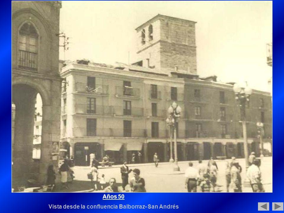 Vista desde la confluencia Balborraz- San Andrés