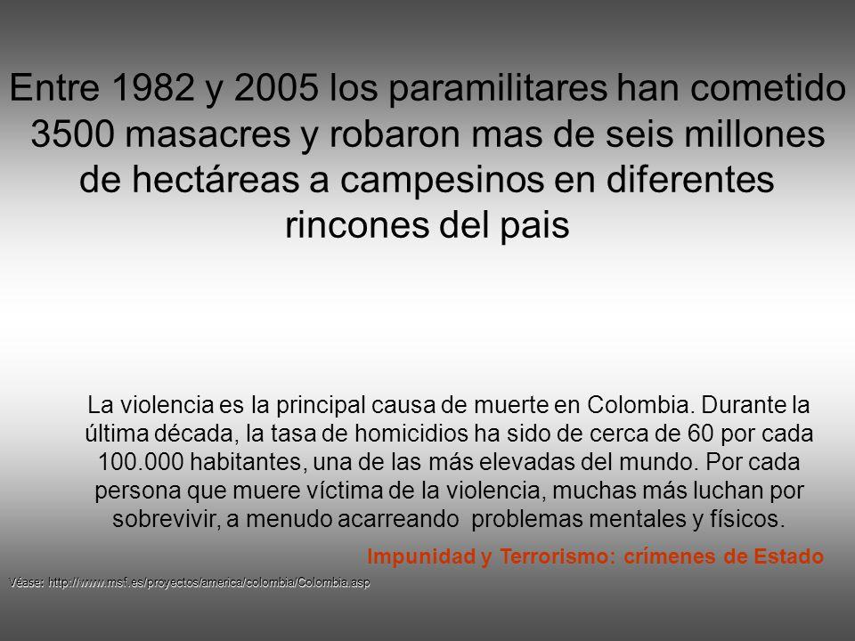 Impunidad y Terrorismo: crímenes de Estado