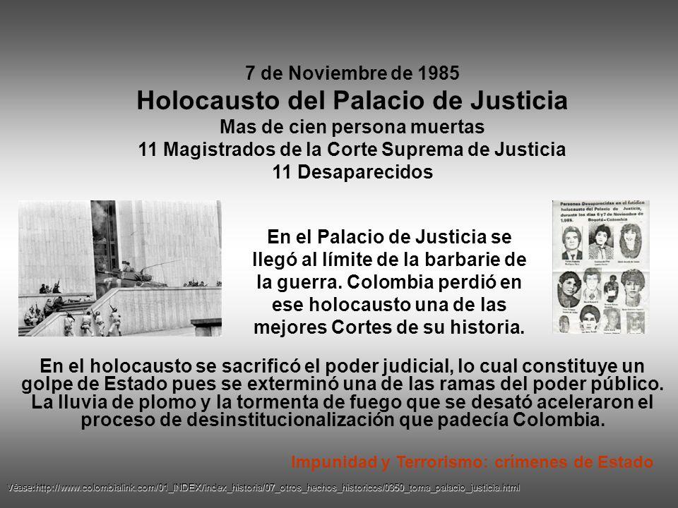 Holocausto del Palacio de Justicia