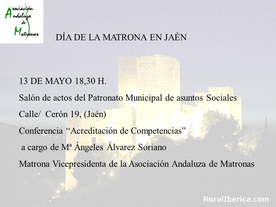 DÍA DE LA MATRONA EN JAÉN