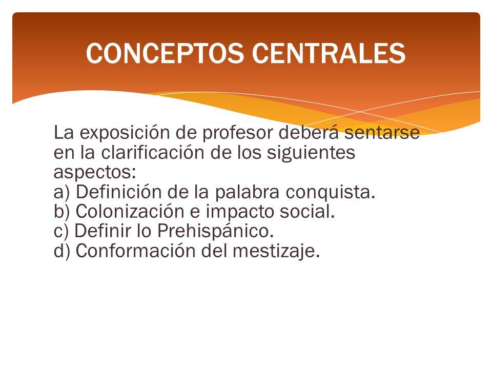 CONCEPTOS CENTRALES