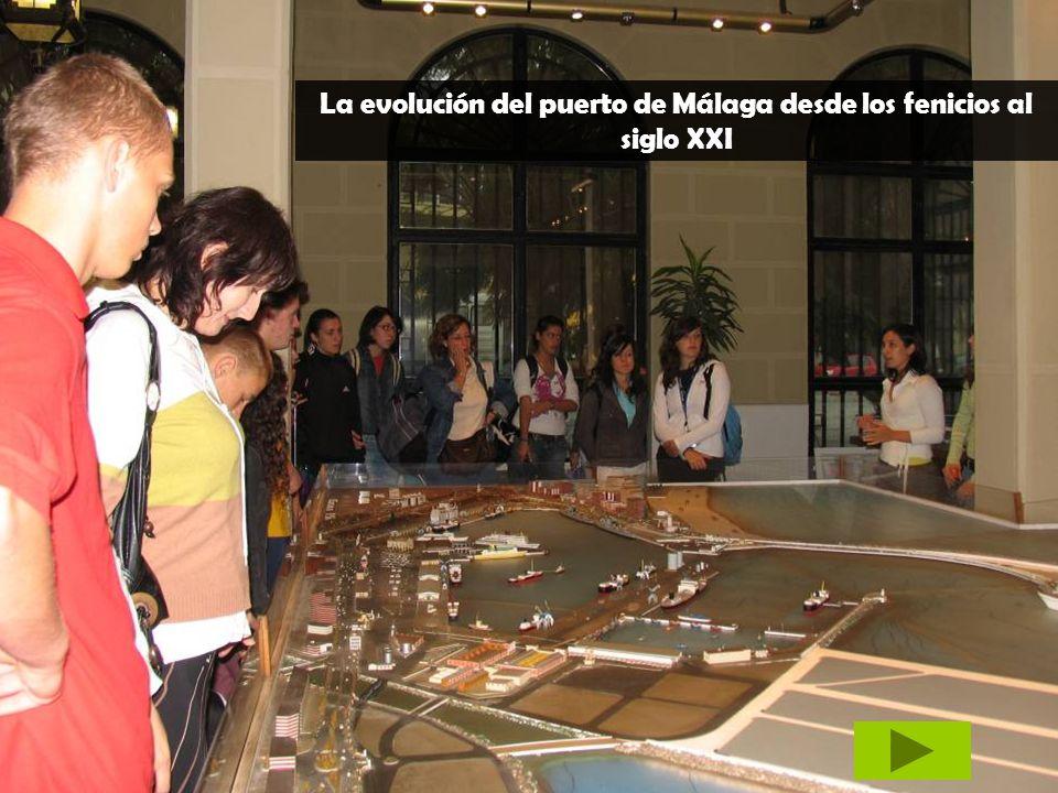 La evolución del puerto de Málaga desde los fenicios al siglo XXI