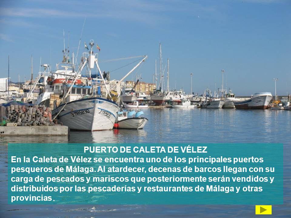 PUERTO DE CALETA DE VÉLEZ
