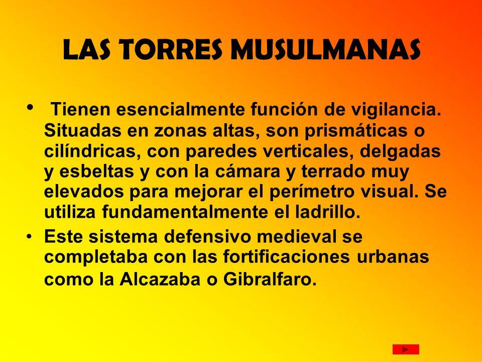 LAS TORRES MUSULMANAS