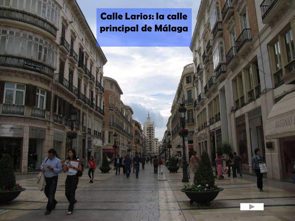 Calle Larios: la calle principal de Málaga