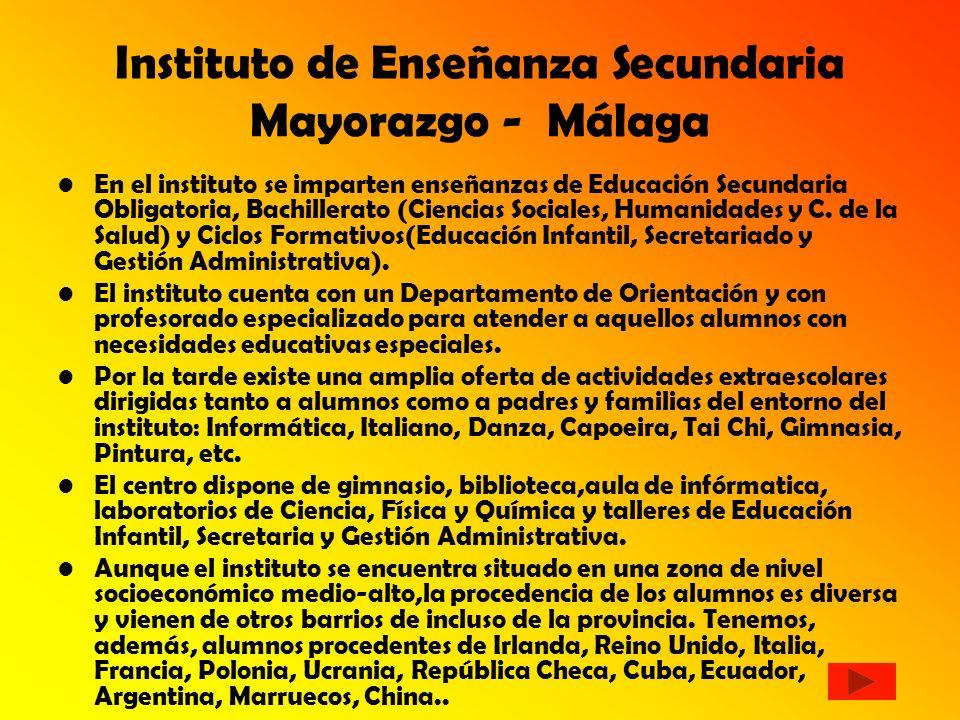 Instituto de Enseñanza Secundaria Mayorazgo - Málaga