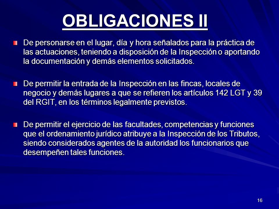 OBLIGACIONES II
