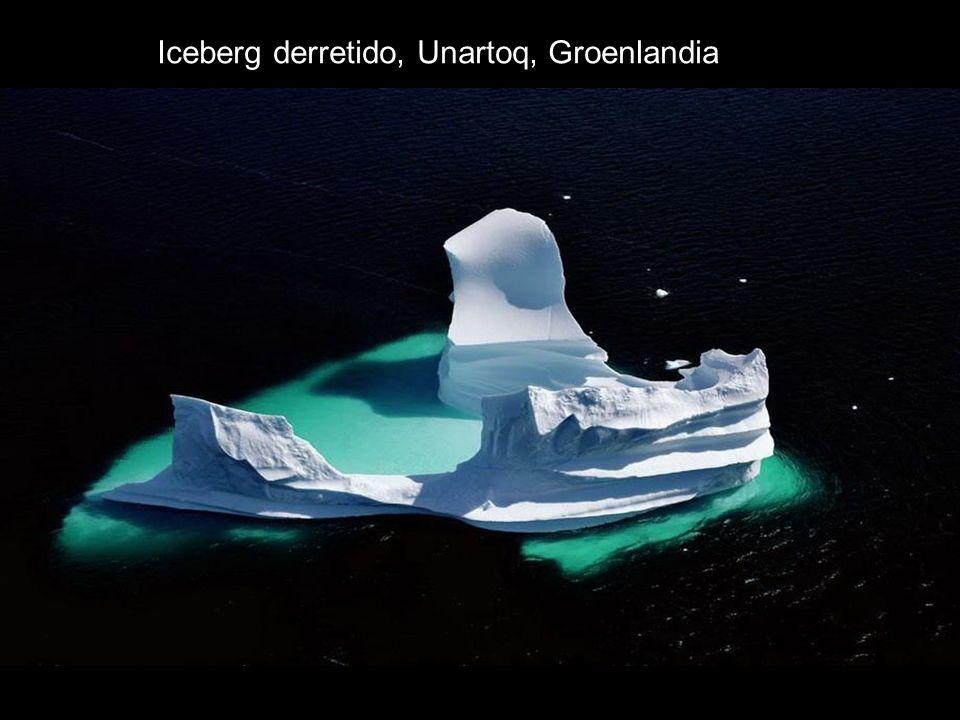 Iceberg derretido, Unartoq, Groenlandia