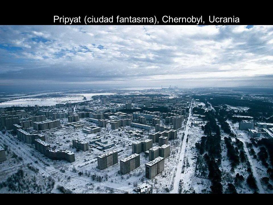 Pripyat (ciudad fantasma), Chernobyl, Ucrania