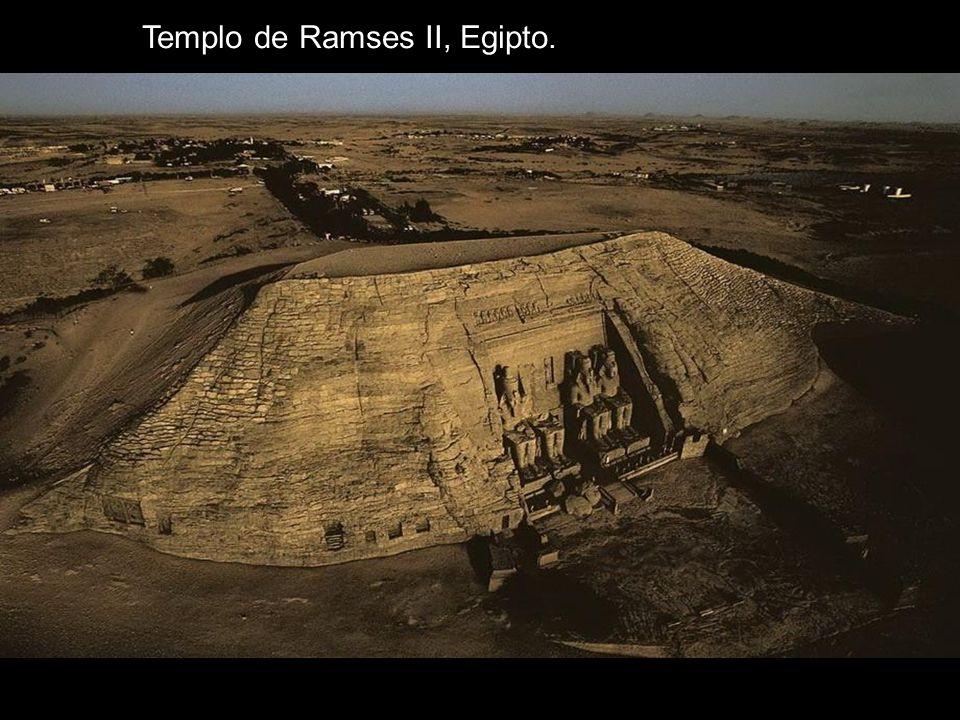 Templo de Ramses II, Egipto.