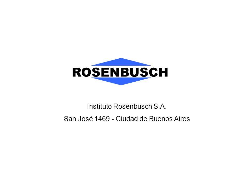 ROSENBUSCH Instituto Rosenbusch S.A.