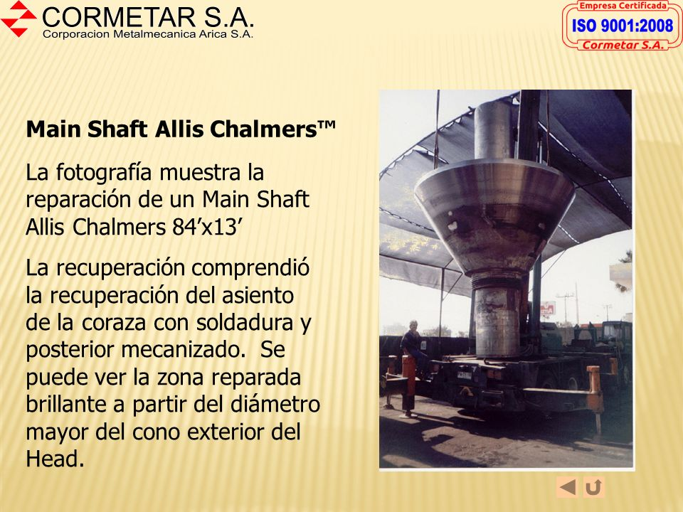 Main Shaft Allis Chalmers™