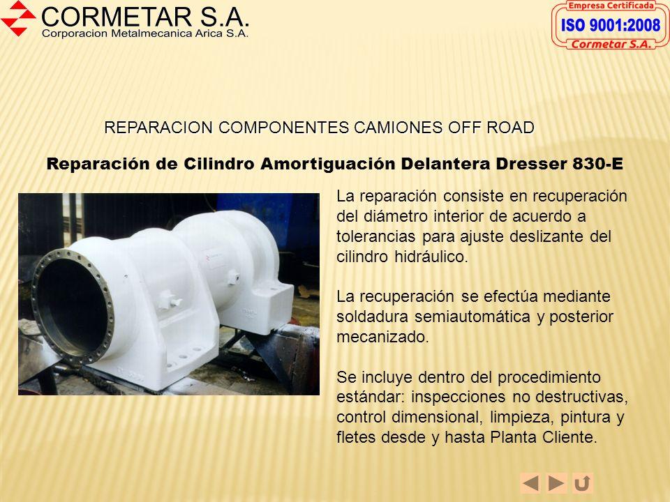 REPARACION COMPONENTES CAMIONES OFF ROAD