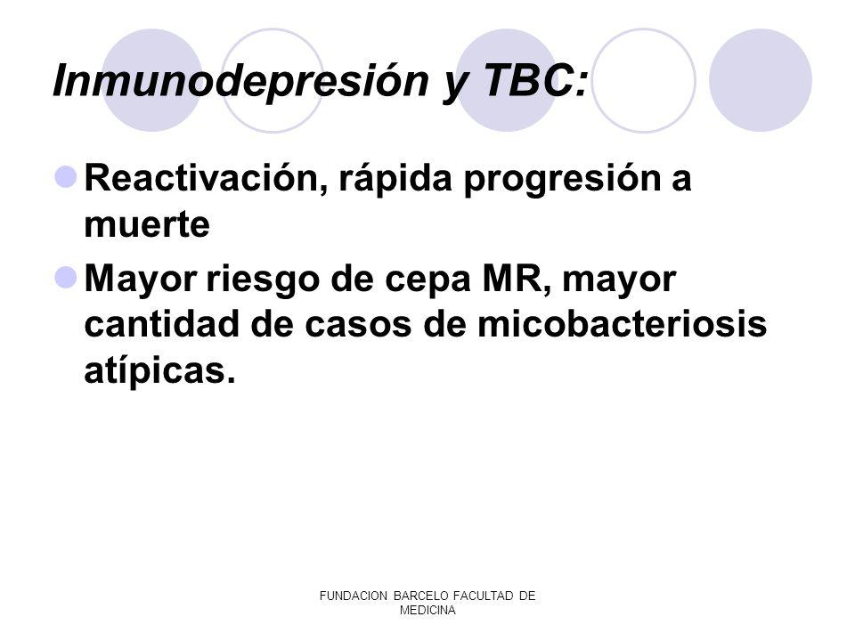 Inmunodepresión y TBC: