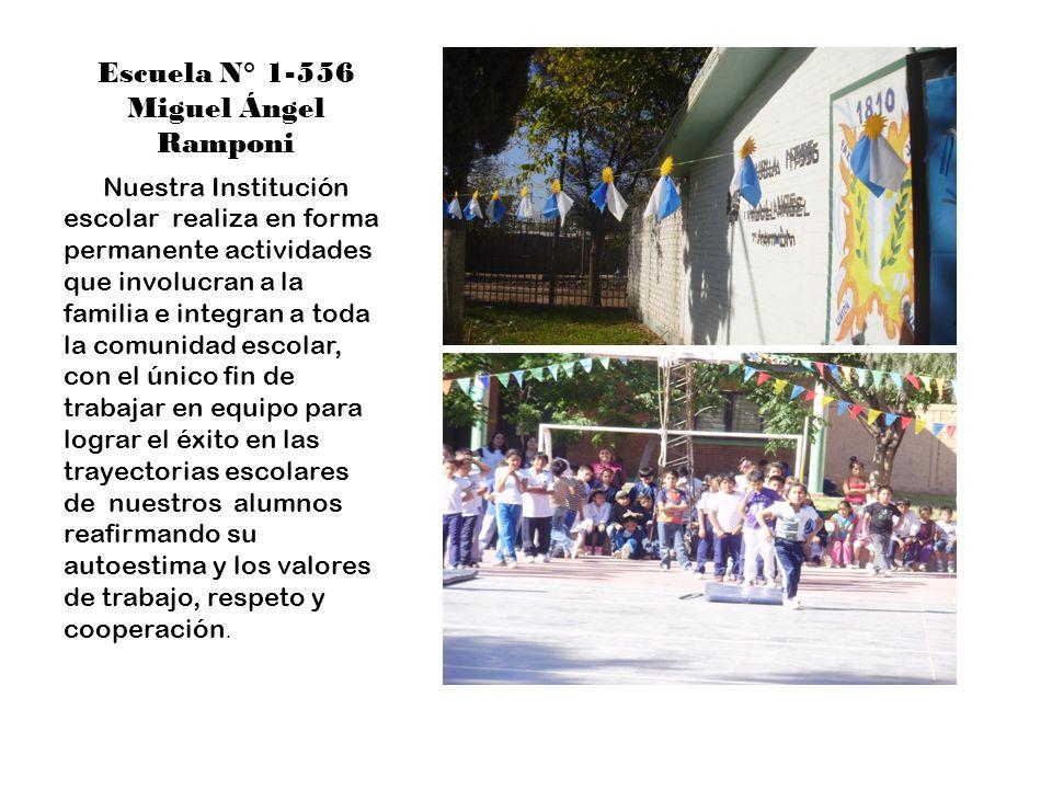 Escuela N° 1-556 Miguel Ángel Ramponi