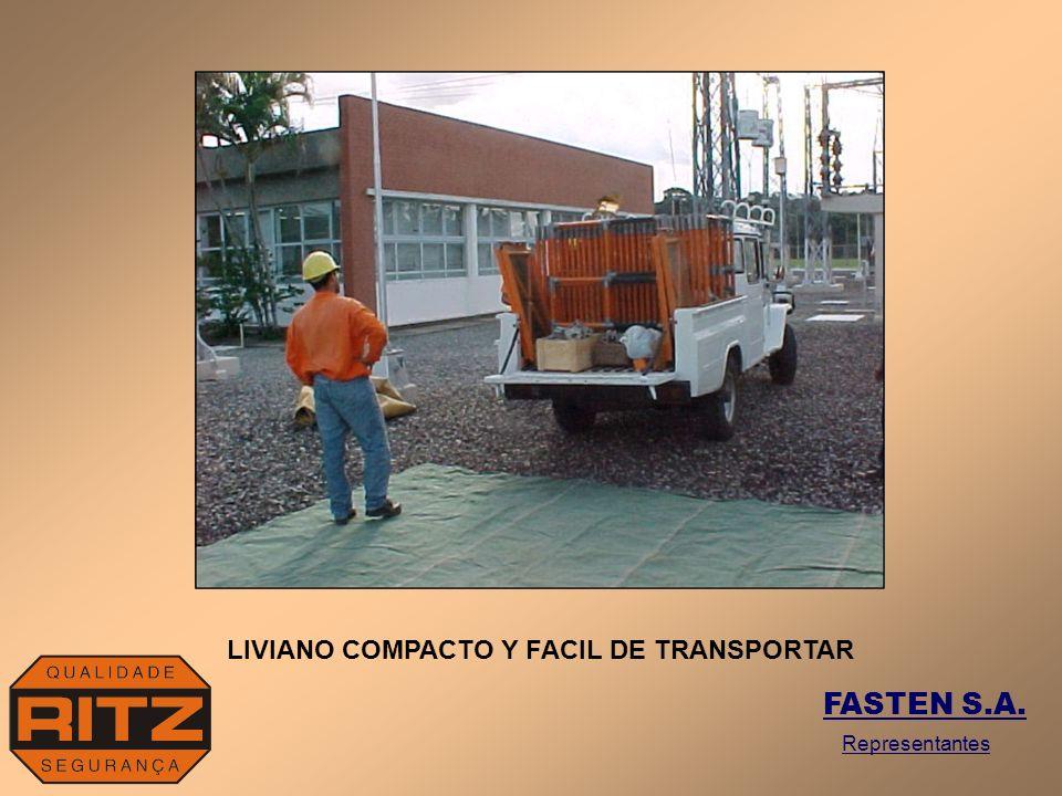 LIVIANO COMPACTO Y FACIL DE TRANSPORTAR
