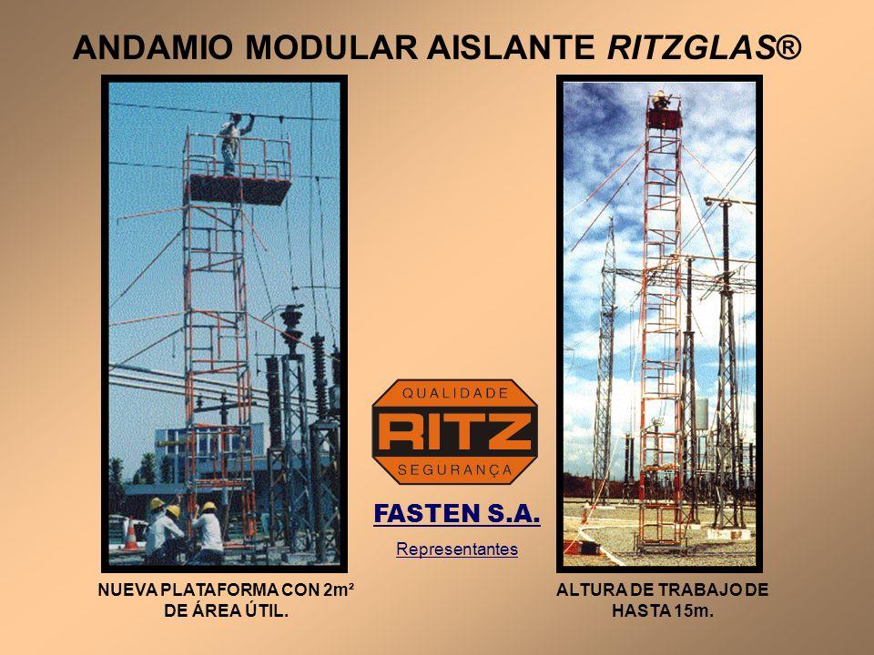 ANDAMIO MODULAR AISLANTE RITZGLAS®
