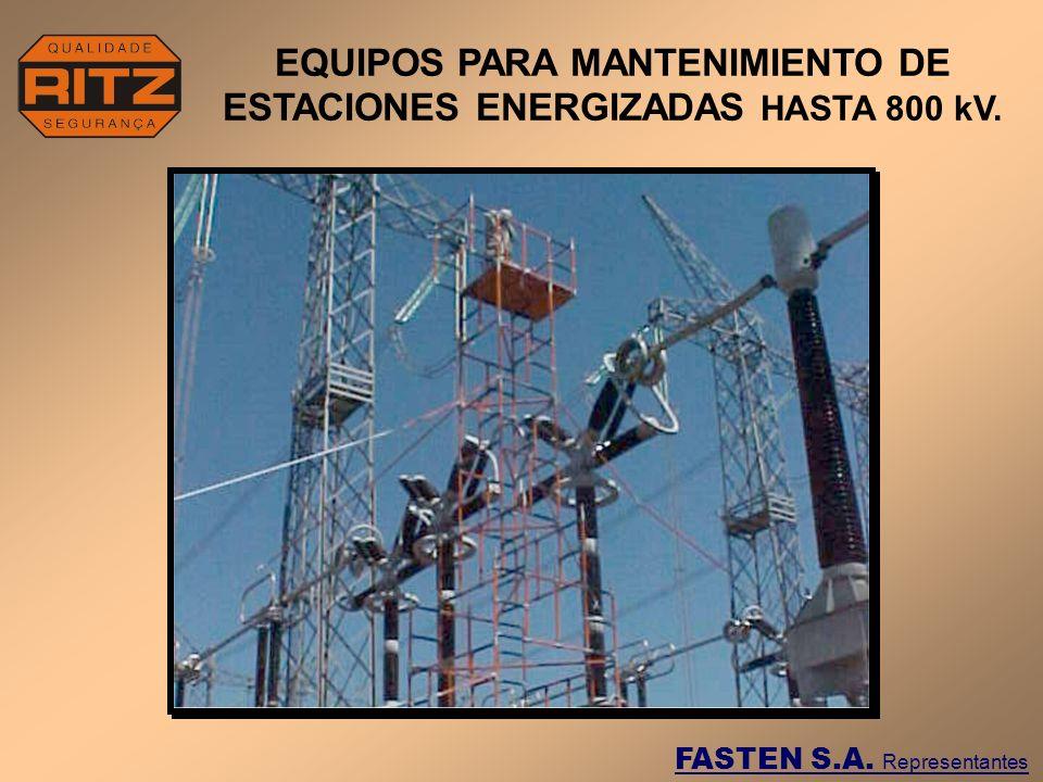 EQUIPOS PARA MANTENIMIENTO DE ESTACIONES ENERGIZADAS HASTA 800 kV.