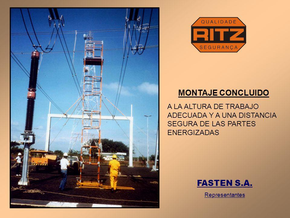 MONTAJE CONCLUIDO FASTEN S.A.